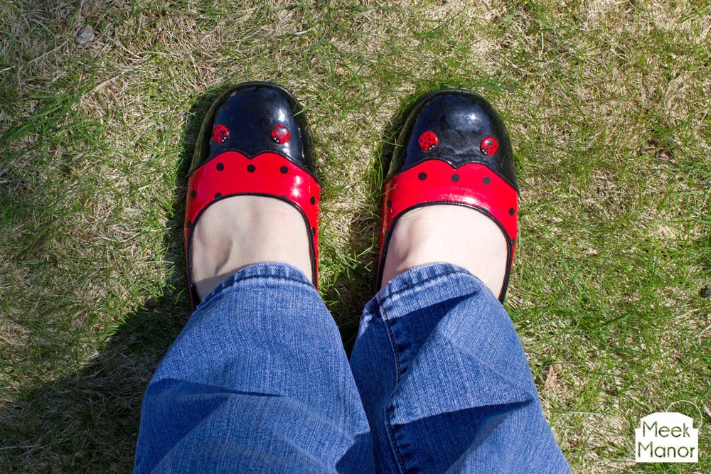 adult ladybug shoes