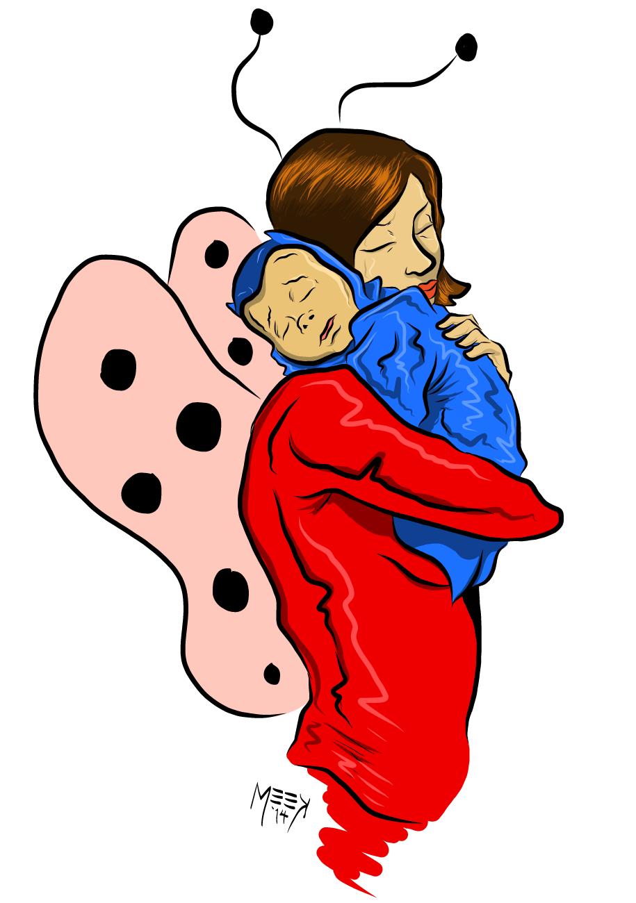 Ladybug Girl and Baby Batman
