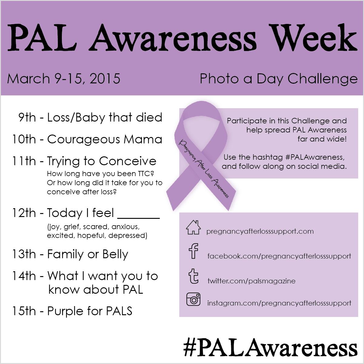 #PALAwareness Week