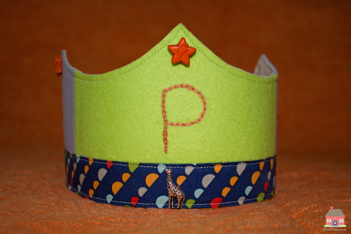MeekManor_PBirthday_Handmade_Crown1