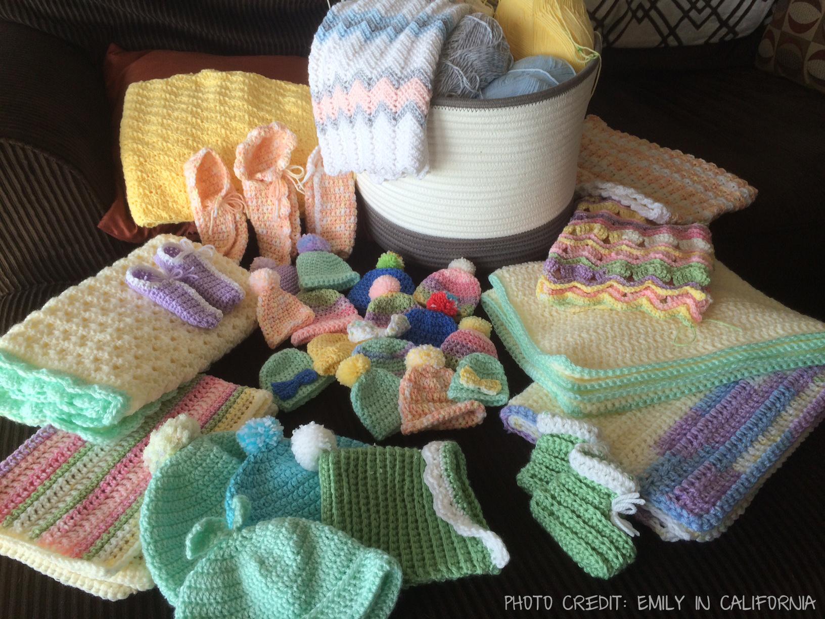 Crochet Baby Donations