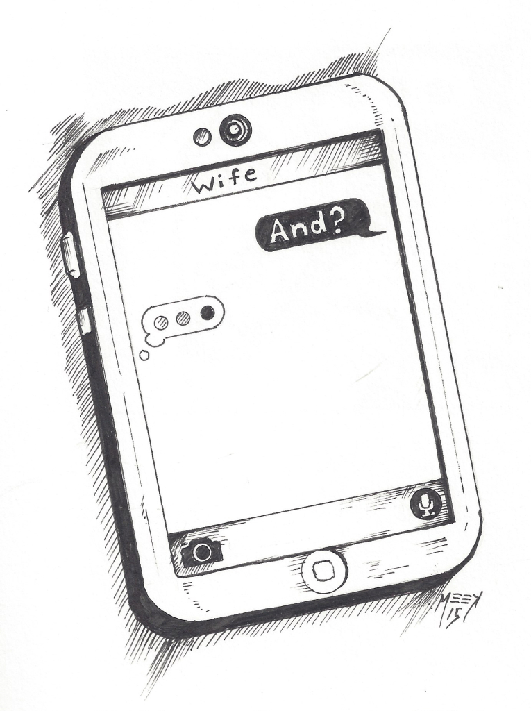 Waiting for Text