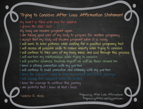 Free Download of TTC After Loss Affirmation Statement