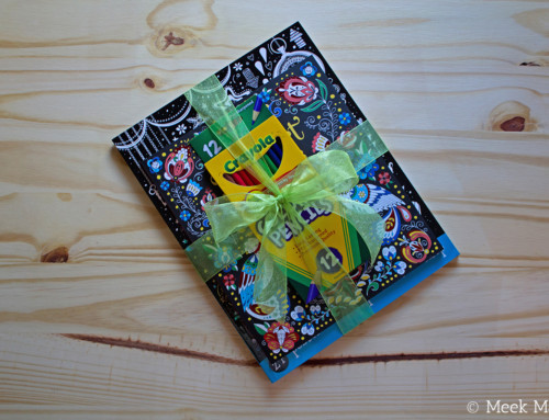 May's Featured Book: Gift Pack of Literary Quotes, Folk Art Patterns to Color, & Crayola Colored Pencils