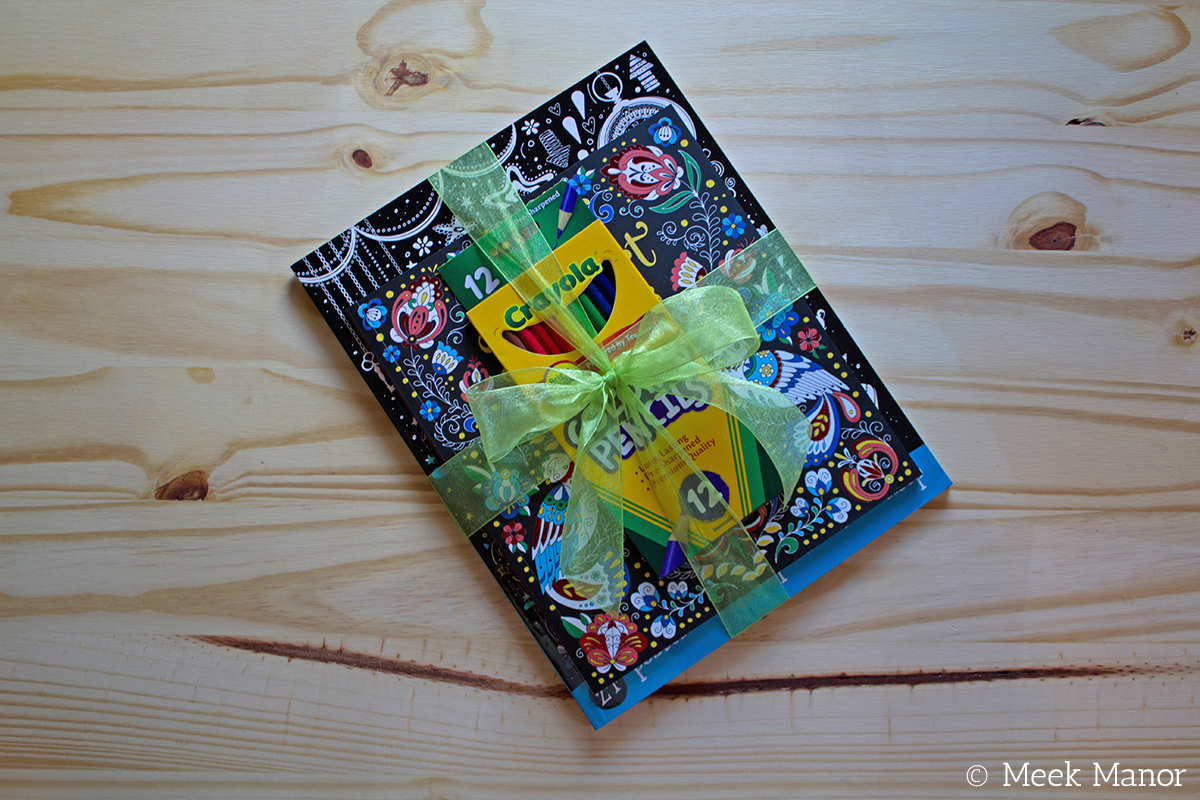 May\'s Featured Book: Gift Pack of Literary Quotes, Folk Art Patterns ...