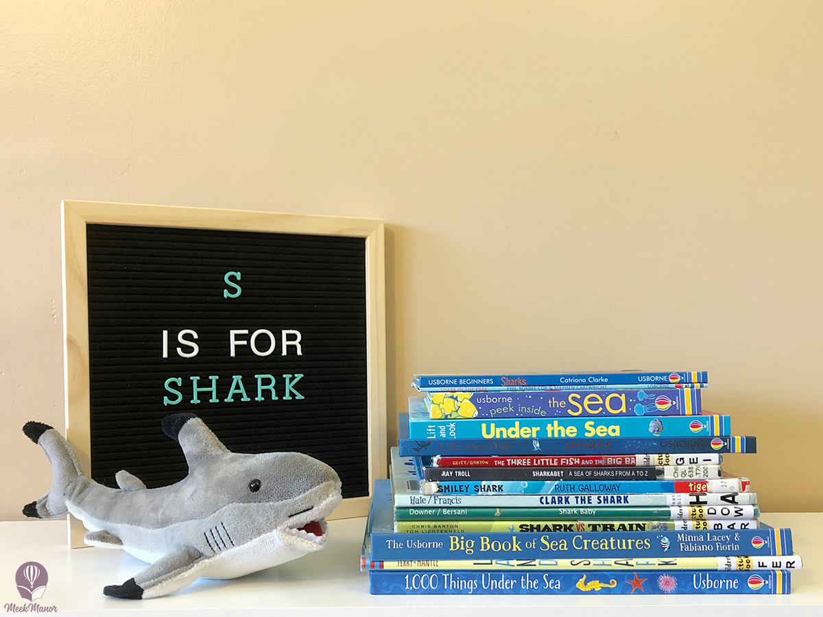 S is for Shark: Our Favorite Shark Books for Toddlers and Preschoolers
