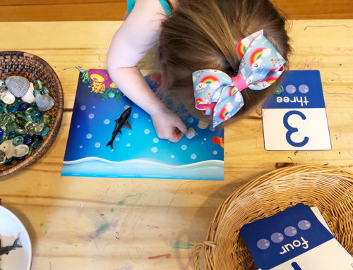 Shark Number & Counting Activities with Free Printable